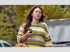 EastEnders' Lacey Turner looks quirky in a colourful