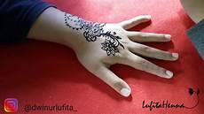 Design Henna Simple Untuk Pemula Part 2