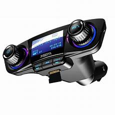 Isunnao Fm Transmitter Bluetooth Receiver Dual Usb