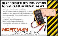 basic electrical troubleshooting training wortman industrial controls st marys pa