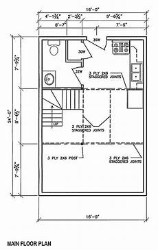 16x24 house plans ns 16x24 cabin cabins and floor plans pinterest