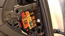audi a4 b8 fuse box location 2007 to 2015
