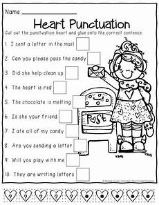 punctuation review worksheets 20883 no prep grade february print and go morning work with images grade writing 1st