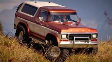 traxxas trx 4 customized ford bronco the ranger in the