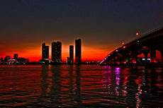 Sunset Miami by Miami Sunset Photograph By Pmg Images