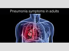 symptoms of viral pneumonia
