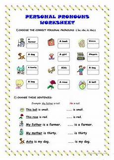 649 free esl pronouns worksheets