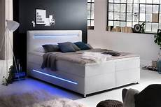 meise m 246 bel boxspringbett mit led beleuchtung wahlweise
