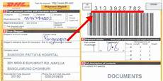 knowing how dhl express delivery receipt number