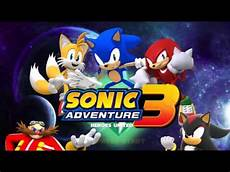 sonic adventure 3 heroes united title screen fanmade