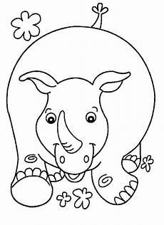 Bilder Zum Ausmalen Nashorn N De 8 Ausmalbilder Nashorn