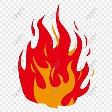 Api Kuning Vektor Kartun Terbakar Gambar Unduh Gratis Imej