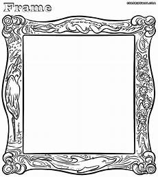frame coloring pages coloring pages to and