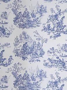 toile de jouy papier peint papierpeint9 papier peint toile de jouy bleu