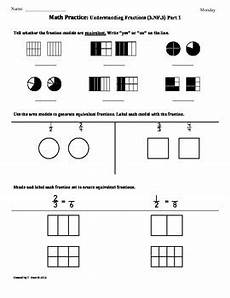 3 nf 3 fractions part 1 3rd grade common core math worksheets 3rd 9 weeks