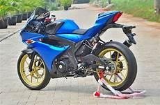 Modifikasi Gsx R150 Jari Jari by Modifikasi Suzuki Gsx R150 Ini Simpel Tapi Elegan Dan