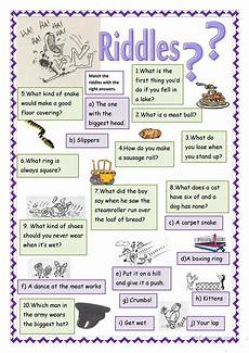 riddles worksheets 10881 riddles esl worksheets for distance learning and physical classrooms