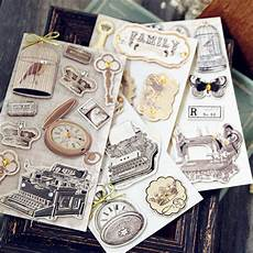 3d sticker handamde vintage stickers for scrapbooking 3d layered