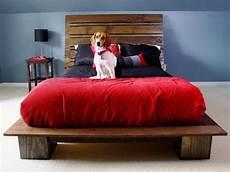 kopfteil bett bauen how to build a modern style platform bed how tos diy