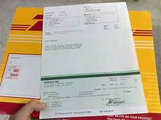 track adsense check without dhl tracking number