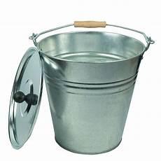 zinkeimer ascheeimer 10 liter mit deckel eimer dekoeimer
