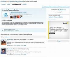 resume builder resume builder product page linkedin