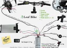 28 inch 48v 1000w rear hub motor electric bike conversion kit leaf newest version