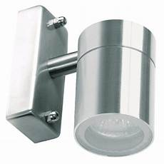 ranex gu10 35 watt incandescent ip44 arezzo brushed stainless steel wall light ranex http