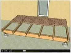 Faire Une Extérieure Comment Construire Une Terrasse En Bois