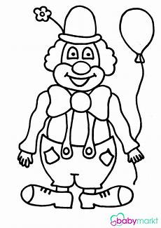 Fasching Ausmalbilder Clown Fridolin Der Fr 246 Hliche Clown Zum Ausmalen Babymarkt De