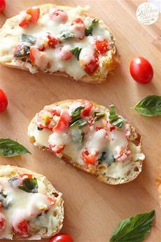 bruschetta melts appetizer from akitchenaddict