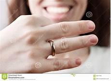 wedding ring on women finger image of