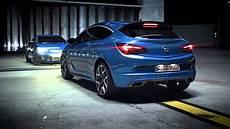 New Opel Astra J Opc Blue Flash Hd