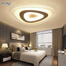 ladari a soffitto per da letto ultrasottile di superficie montato moderna led ladario