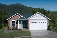 narrow lot house plans with front garage starter ranch plan with vaulted ceilings 138 1090 3