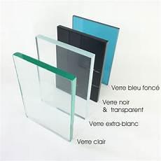 plaque en verre sur mesure verre blanc trempe sur mesure format bandeau 6 a