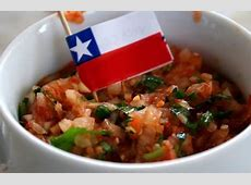 Traditional Chilean salsa straight from my hometown