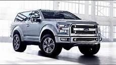 2017 Ford Bronco Svt Redesign Exterior Interior Release