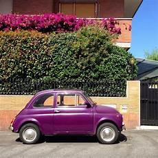 Violet Fiat 500 Car Stock Editorial Photo 169 3290162