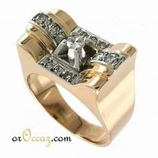 bijoux d occasion oroccaz bague tank or et diamants