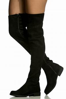 black faux suede thigh high boots cicihot boots catalog