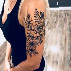 Blumen Arm - 43 beautiful flower tattoos for page 2 of 4 stayglam