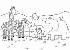 Zootiere Malvorlagen Pdf Malvorlage Zoo Kinder Ausmalbilder