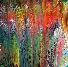 fluid painting abstrakte malerei in acryl foto bild