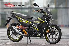 Modifikasi Satria Fu Fi by Modifikasi Striping Satria Fu 150 Fi 2016