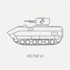 zeichnen sie des vektorikoneninfanterieangriffs der