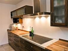 Küche Nussbaum Weiß - innenausbau k 252 chen einbauschrank theken kleiderschrank