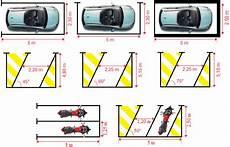 les dimensions standards d un parking ou d un garage cipg