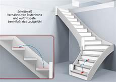 Treppenberechnung 1 4 Links Gewendelte Treppe Mit L