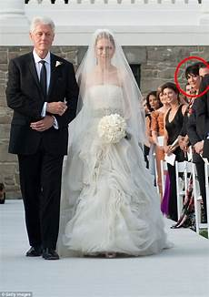 and bill clinton wedding bill clinton pictured with jeffrey epstein s social fixer